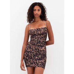NEW Aritzia Babaton | Luxor Leopard Mini Dress